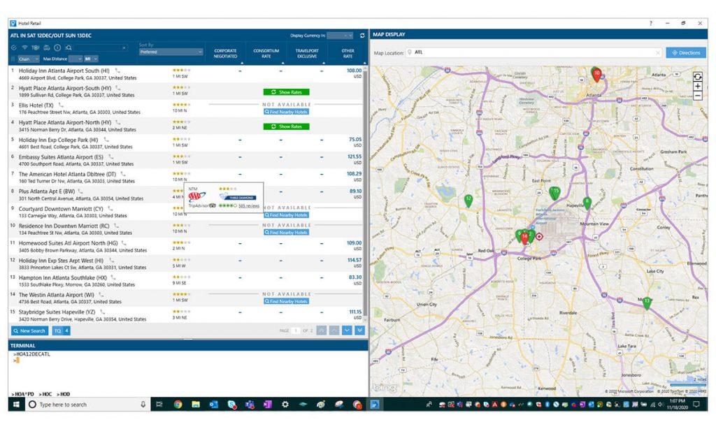Smartpoint map